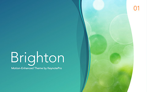 Brighton Keynote Theme