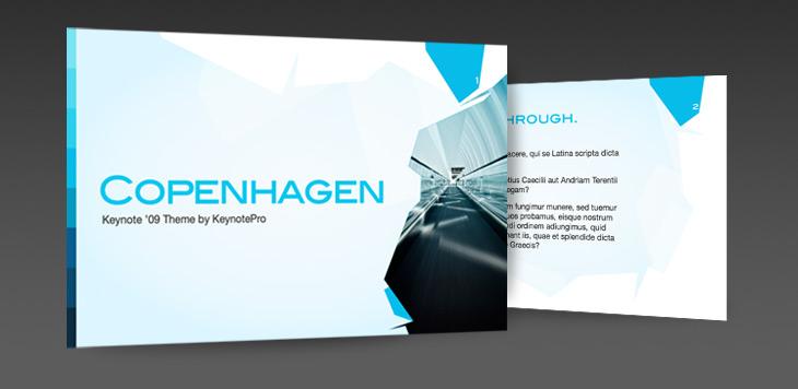 KeynotePro: Keynote Themes: Copenhagen for Keynote '09