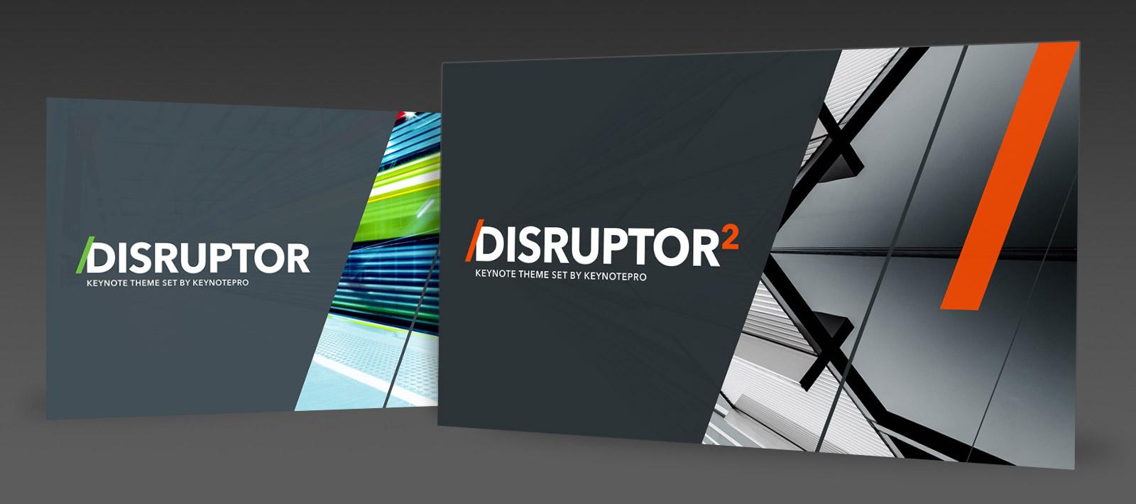 keynotepro keynote themes disruptor nxt