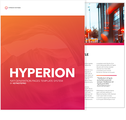 Hyperion for Pages