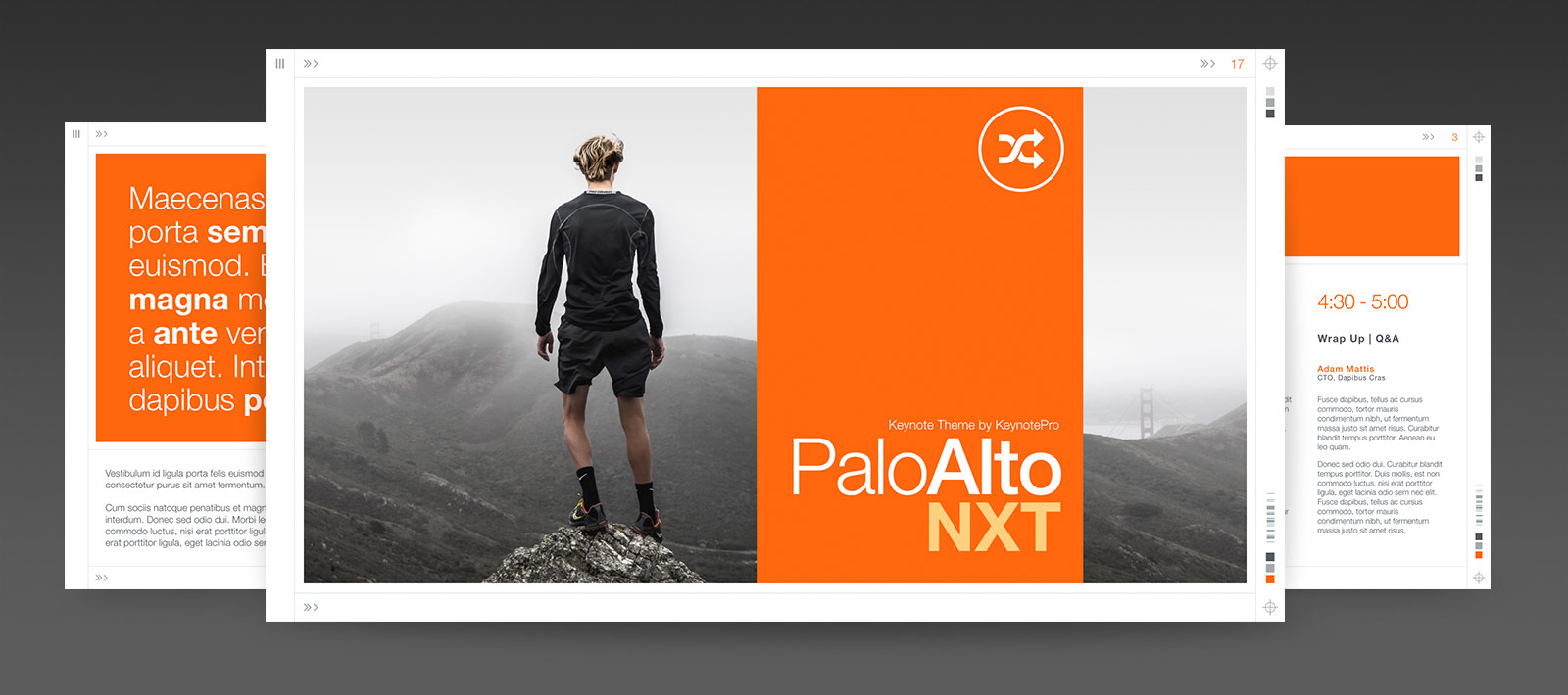 Palo Alto NXT for Keynote