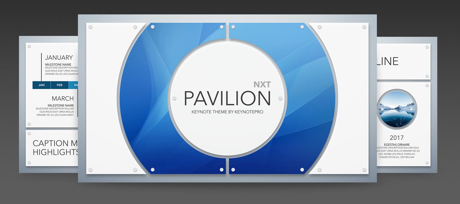 keynotepro keynote themes pavilion nxt