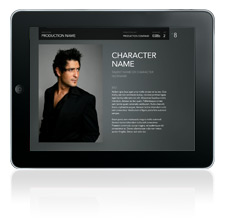 PitchBoards NXT playback in Keynote for iPad