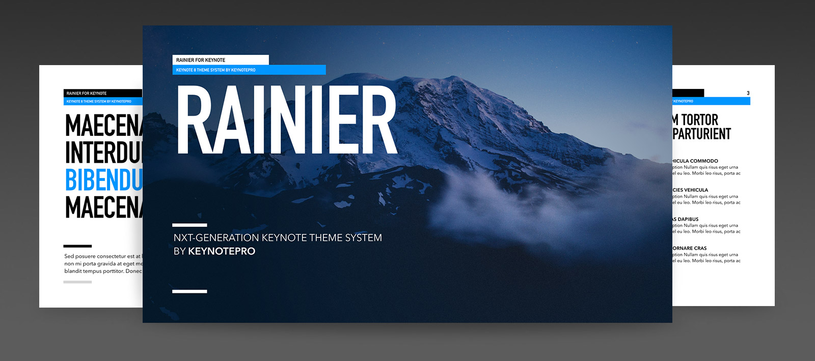 Rainier (NXT) for Keynote