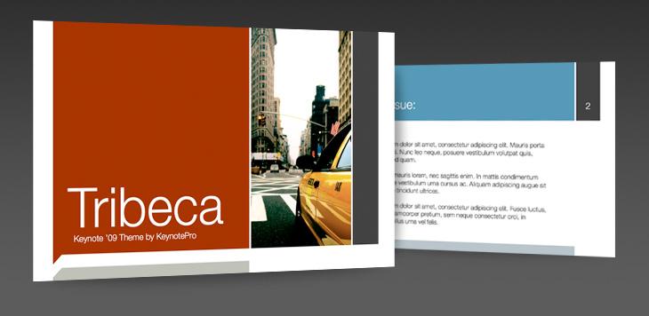 KeynotePro: Keynote Themes - Tribeca