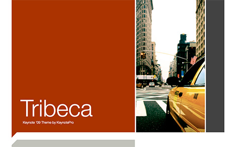 Tribeca Keynote Theme