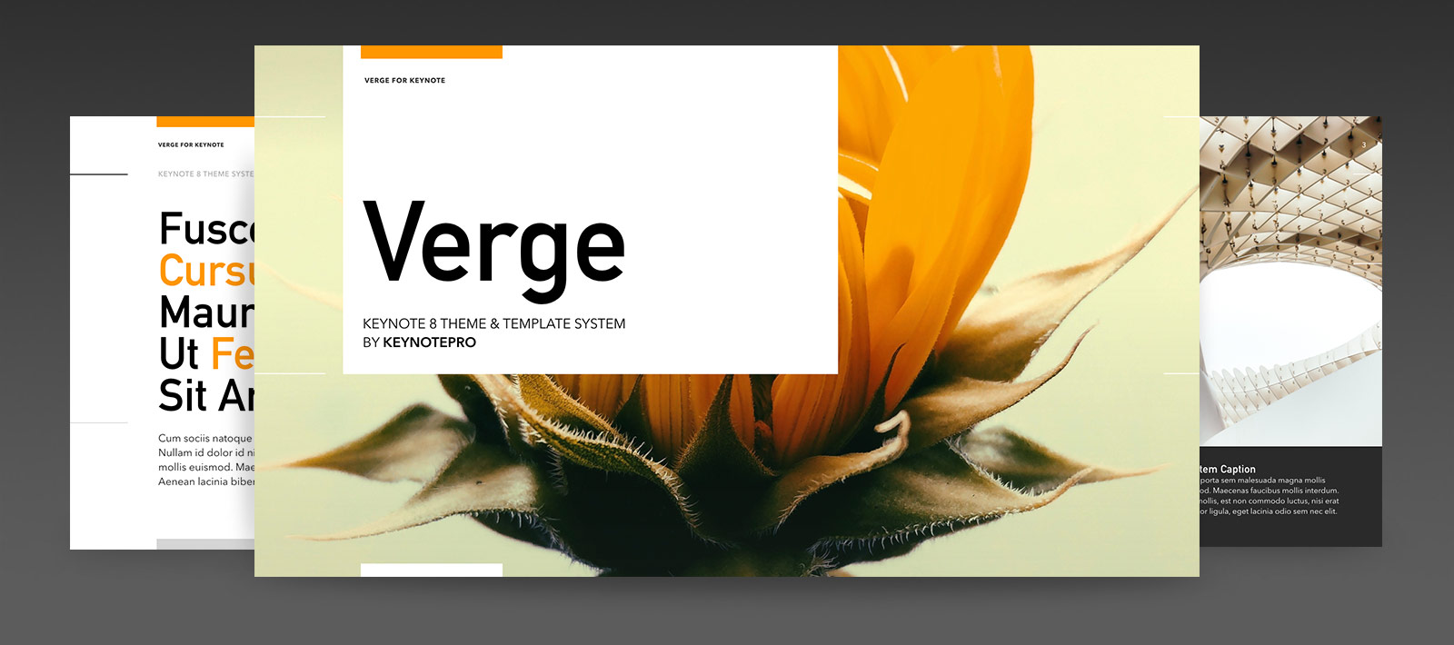 Verge (NXT) for Keynote 8